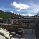 Matterhorn view on clear sky