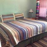 big comfy king size bed