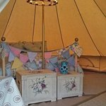 Our new Glamping tent