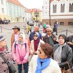 Eva and Nelly were our guides in Tallinn, Estonia.