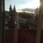 Ausdicht über die Dächer Prags