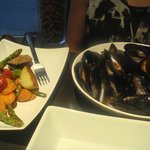 Mussels & Vegetables