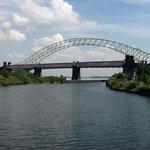 Impressive Runcorn Bridge.