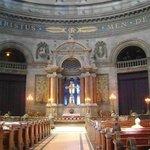 Iglesia de Mármol, Copenhague, Dinamarca.