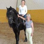 Чёрный конь...
