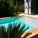 La tente avec piscine privée