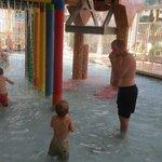 shallow kiddie waterpark