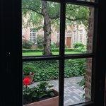 Вид на внутренний дворик