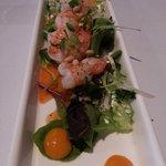 Mango Prawn salad - delicious!