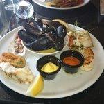 Seafood platter, amazing