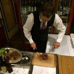 Preparing the Chateaubriand