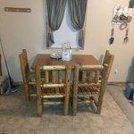Dining area in 2 bedroom deluxe