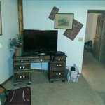 TV in living room-DVD player would be nice