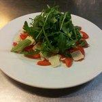 Parmesano and ruca salad