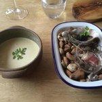 starter - oyster soup