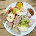 My ploughmans lunch today, brilliant!