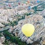Hot air balloon flight over Goreme, Turkey