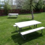 Our HUGE Private BBQ Picnic Area