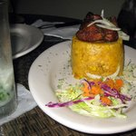 Mofongo at the Luquillo Kiosks