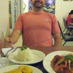 Dinner at El Rincon De Sabor - delicious!