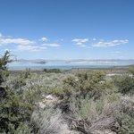 Mono Lake looking at islands