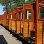 the beautifully restored coaches