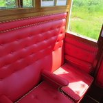 For a small supplement treat yoursef to a ride in the luxurious saloon