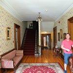 Grand hallway