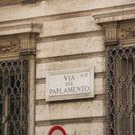 Placa que certifica que aquí estuvo el Gral. San Martín
