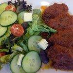 Greek meal - Soutzoukakia