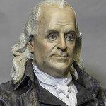 Benjamin Franklin in 'Declaration of Independence.'