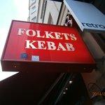 Folkets Kebab restaurant-Stockholm
