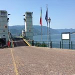 Ferry Dock - take from here in Varenna to Bellagio and other lakeside villages