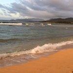 Ocean view in front of the Islander