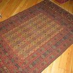 Our Turkmen rug from South Eastern Turkey near Syrian border
