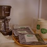 Coffee from Carmel Valley Roasting Co. - Served with breakfast and in select rooms