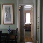 Adjoining hallway