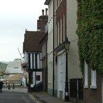 Quaint streets leading to the Quay