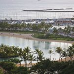 Lagoon view from the Hilton Hawaiian Village