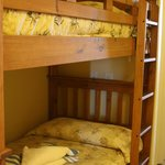 Bunk beds in hallway