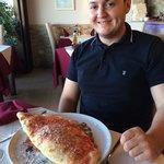 Huge calzone