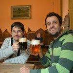 Muy buena cerveza negra...