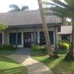 Our beach front villa