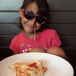 My daughter loves the ooey gooey cheese