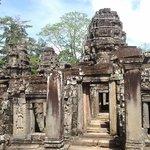 Inside Angkor Temple