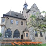 Vista do fundo do castelo.