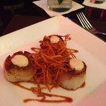Diver scallop appetiser