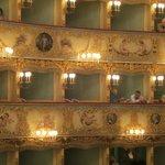 "Teatro ""La Fenice""  -  interior taken from our box"