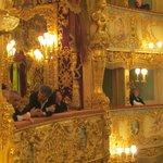 "Teatro ""La Fenice"" interior taken from our box"