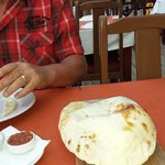 Clive loved this garlic bread at Butterfiles good food friendly staff. Lovely couple we wish you